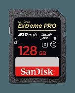 SanDisk SDXC 128GB Extreme Pro 300MB/s UHS-II