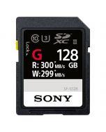 Sony SDXC 128GB UHS-II 300MB/s SF-G Series