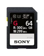 Sony SDXC 64GB UHS-II 300MB/s SF-G Series
