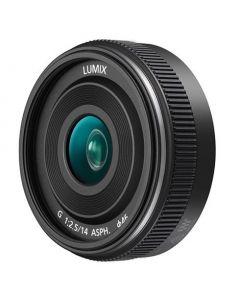 Panasonic 14mm /2.5 Lumix G II ASPH. Zwart