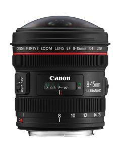 Canon EF 8-15mm /4 L Fisheye USM