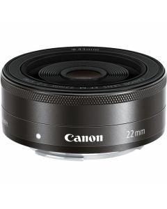 Canon EF-M 22mm /2 STM Zwart