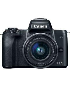 Canon EOS M50 Mark II Body Zwart + 15-45mm /3.5-6.3 IS STM