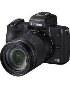 Canon EOS M50 Mark II Body + 18-150mm /3.5-6.3 IS STM zoomobjectief