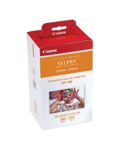 Canon RP-108 - Papier en inkt voor Selphy Printers