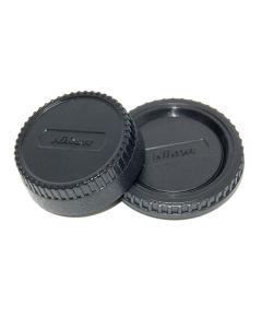 Caruba Achterlensdop en Bodydop voor Nikon
