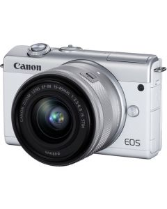Canon EOS M200 + EF-M 15-45mm IS STM Wit