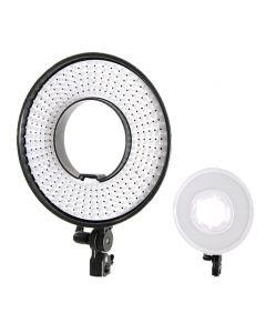 Falcon Eyes DVR-300 DVC Bi-color LED Ringlamp Dimbaar