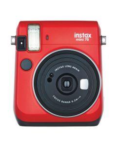 FUJIFILM Instax Mini 70 Passion Red Instant Camera