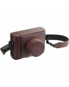 FUJIFILM LC-X100F Bruin - Lederen tas voor X100F compactcamera