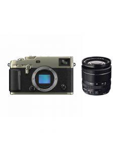 FUJIFILM X-Pro3 Titan Dura Zilver + XF 18-55mm systeemcamera