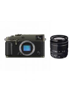 FUJIFILM X-Pro3 Titan Dura Zwart + XF 18-55mm systeemcamera