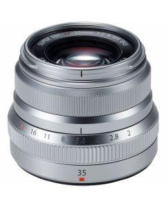 FUJIFILM XF 35mm /2 R WR Zilver