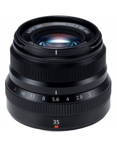 FUJIFILM XF 35mm /2 R WR Zwart