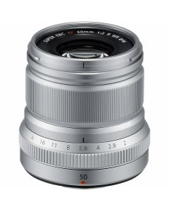 FUJIFILM XF 50mm /2 R WR Zilver