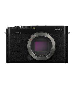 FUJIFILM X-E4 zwart systeemcamera - Body