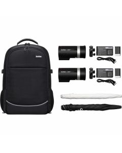 Godox AD300Pro2 Heads Kit portable flitsset