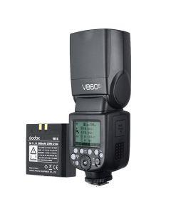 Godox Speedlite Ving V860 II TTL-flitser met Accu - Nikon