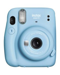 FUJIFILM Instax Mini 11 Sky Blue Instant Camera