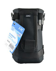 JJC DLP Deluxe 5 Lens Pouch Zwart