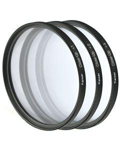 Kaiser Close Up Filterset met +1, +2 en +4 filter - 52mm
