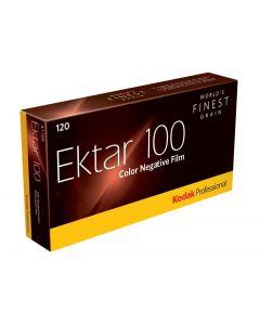 Kodak Professional Ektar ISO 100 kleurenfilm, 120 spoel 5-pak