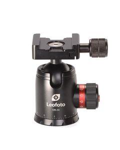 Leofoto DB-34 Balhoofd (+ QR52 Snelkoppeling)