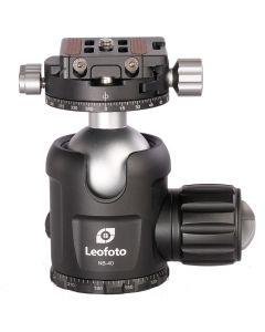 Leofoto NB-40 Balhoofd (+ NP-50 Snelkoppeling)