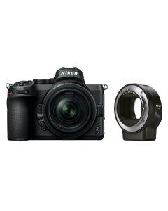 Nikon Z 5 + Nikkor Z 24-50mm /4-6.3 + FTZ Adapter