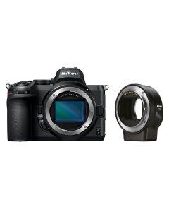 Nikon Z 5 Body + FTZ adapter