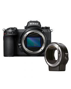 Nikon Z6 II + FTZ mount adapter fullframe systeemcamera