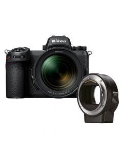 Nikon Z7 II + 24-70mm /4 + FTZ mount adapter
