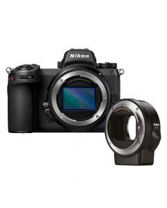 Nikon Z7 II + FTZ mount adapter fullframe systeemcamera