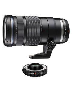 Olympus 40-150mm /2.8 PRO ED M.Zuiko Micro Four Thirds Zwart + MC-14