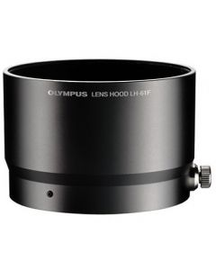 Olympus LH-61f Metalen Zonnekap Zwart (voor 75mm /1.8 MFT)