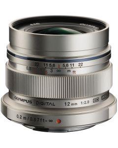 Olympus 12mm /2 M.Zuiko ED Micro Four Thirds Zilver