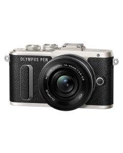Olympus PEN E-PL8 + 14-42mm /3.5-5.6 EZ Zwart