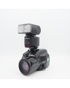 Olympus IS-1000 + G40 flash - occassion