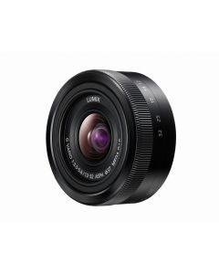 Panasonic 12-32mm f/3.5-5.6 Lumix G Vario ASPH. Mega O.I.S. Zwart