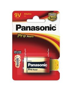 Panasonic 9V Pro Power Batterij
