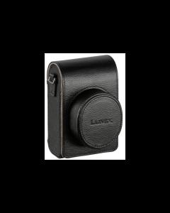 Panasonic DMW-PLS79XEK- Lederen tas voor Panasonic DC-LX100 camera's