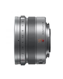 Panasonic Leica DG 15mm /1.7 Summilux ASPH. Zilver