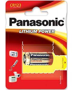 Panasonic CR123 Lithium Batterij