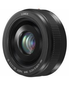 Panasonic 20mm /1.7 II G ASPH. Zwart