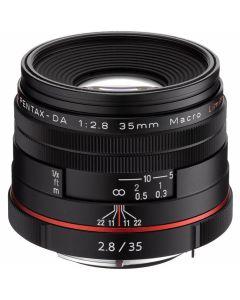 Pentax HD DA 35mm f/2.8 Macro Limited Zwart