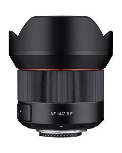 Samyang 14mm /2.8 AF Canon EF-mount groothoeklens