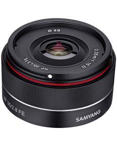 Samyang 35mm /2.8 AF Sony FE-mount standaardlens