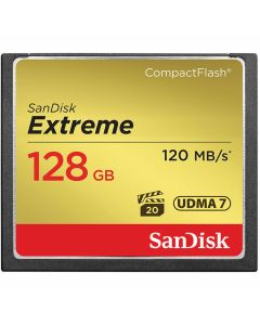 Sandisk Compact Flash 128GB Extreme 120mb