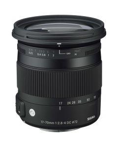 Sigma 17-70mm /2.8-4 DC Macro HSM Contemporary Nikon