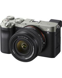 Sony A7C Zilver + 28-60mm /4-5.6